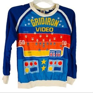 Vintage Cater's Gridiron Video Game Long Sleeve